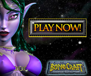BoneCraft Sci-Fi / Fantasy Sex Video Game